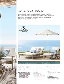 Mirror deals in the Pottery Barn weekly ad in Van Nuys CA