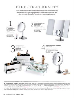 Mirror deals in the Pottery Barn weekly ad in New York