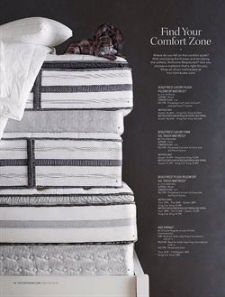Mattress deals in the Pottery Barn weekly ad in New York