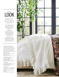 Covers deals in the Pottery Barn weekly ad in New York