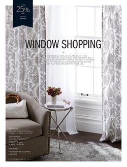 Sofa deals in the Pottery Barn weekly ad in New York