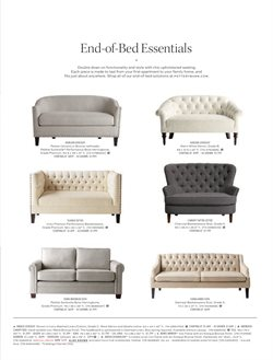 Sofa deals in the Pottery Barn weekly ad in Stone Mountain GA