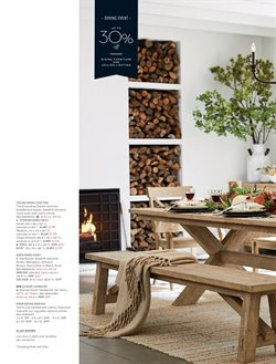 Furniture deals in the Pottery Barn weekly ad in Cleveland OH