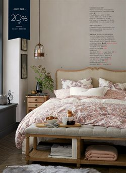 Nightstand deals in the Pottery Barn weekly ad in New York