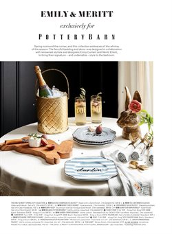 Plates deals in the Pottery Barn weekly ad in New York