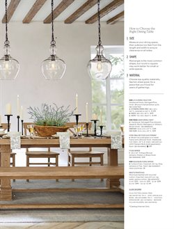 Chairs deals in the Pottery Barn weekly ad in New York