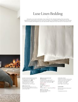 Bedroom deals in the Pottery Barn weekly ad in New York