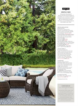 Furniture deals in the Pottery Barn weekly ad in Columbus OH
