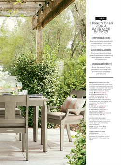Decoration deals in the Pottery Barn weekly ad in New York