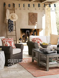 Sofa deals in the Pottery Barn weekly ad in Sterling VA