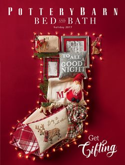Pottery Barn deals in the Costa Mesa CA weekly ad