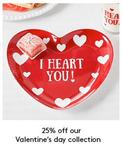 Valentine's Day deals in the Pottery Barn Kids weekly ad in New York