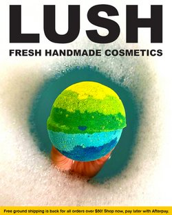 Beauty & Personal Care deals in the Lush Cosmetics catalog ( 7 days left)