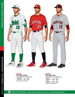 Baseball deals in the Under Armour weekly ad in Lebanon PA