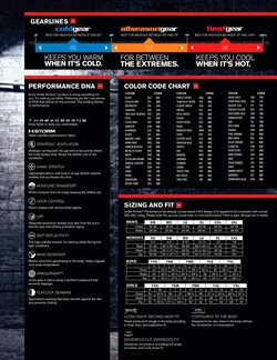 Baseball deals in the Under Armour weekly ad in New York