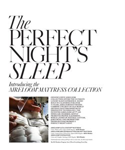 Mattress deals in the Restoration Hardware weekly ad in New York
