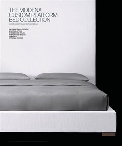 Bed deals in the Restoration Hardware weekly ad in New York