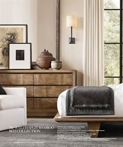 Nightstand deals in the Restoration Hardware weekly ad in New York