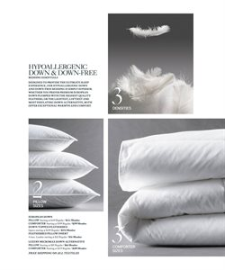 Comforter deals in the Restoration Hardware weekly ad in New York