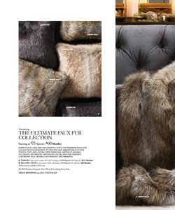 Pillow deals in the Restoration Hardware weekly ad in New York