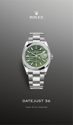 Jewelry & Watches deals in the Rolex catalog ( More than a month)