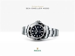 Rolex deals in the New York weekly ad