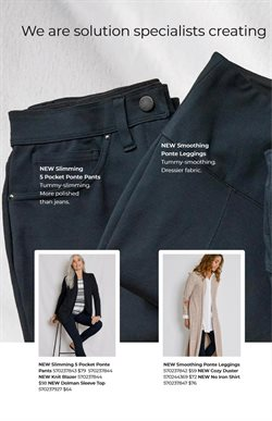 Leggings deals in the Soma weekly ad in New York