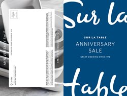 Sur la table deals in the New York weekly ad