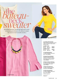 Hat deals in the Talbots weekly ad in Erie PA