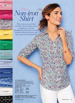 Shirt deals in the Talbots weekly ad in Los Angeles CA