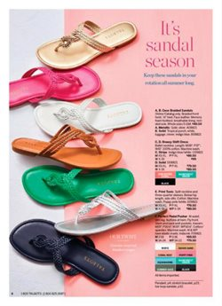 Sandals deals in the Talbots weekly ad in Dearborn Heights MI
