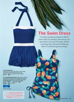 Dress deals in the Talbots weekly ad in Lancaster PA