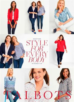 Talbots deals in the Pasadena CA weekly ad