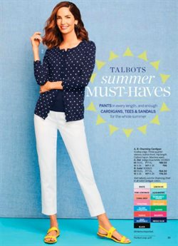 Sandals deals in the Talbots weekly ad in Memphis TN