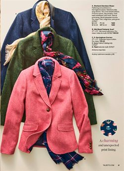 Scarf deals in the Talbots weekly ad in Charleston WV