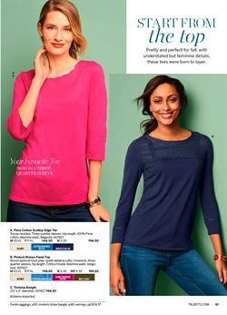 Top deals in the Talbots weekly ad in Bessemer AL