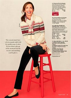 Accessories deals in the Talbots weekly ad in Charleston WV