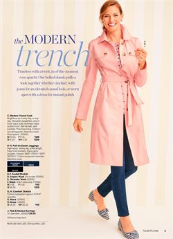 Jeans deals in the Talbots weekly ad in New York