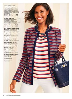 Necklace deals in the Talbots weekly ad in New York