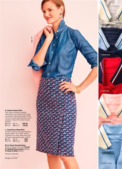 Shirt deals in the Talbots weekly ad in New York