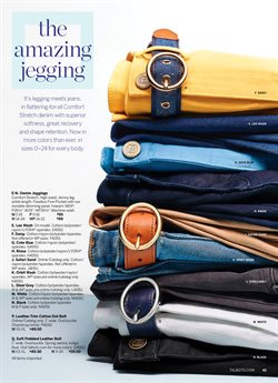 Leggings deals in the Talbots weekly ad in New York