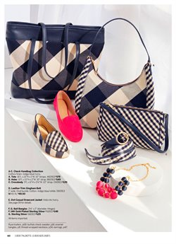 Handbag deals in the Talbots weekly ad in New York