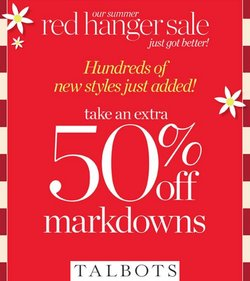 Talbots deals in the Talbots catalog ( Expired)