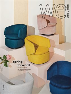 Chairs deals in the West Elm weekly ad in Schenectady NY