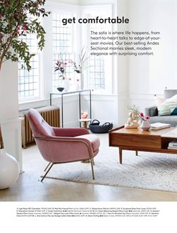 Table deals in the West Elm weekly ad in Kent WA