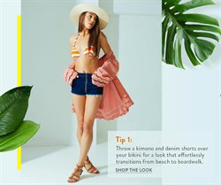 Bikini deals in the Wet Seal weekly ad in Fontana CA