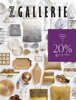 Z Gallerie deals in the Houston TX weekly ad