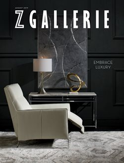 Home & Furniture deals in the Z Gallerie weekly ad in San Antonio TX