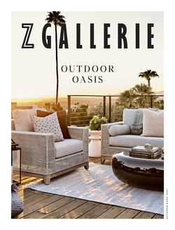 Home & Furniture deals in the Z Gallerie catalog ( More than a month)