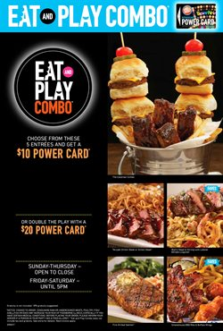 Dave & Buster's deals in the Houston TX weekly ad